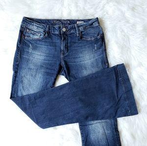 Mavi Peace flared dark vintage wash jeans sz 10